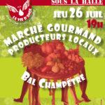Marché Producteurs + Bal Champêtre